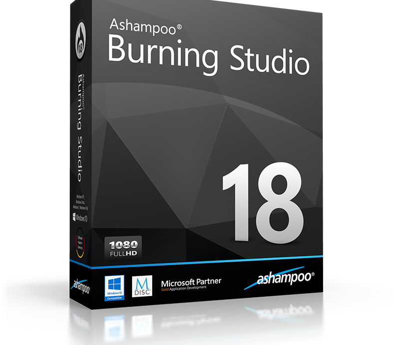 Ashampoo Burning Studio 21.6.1.63 Crack With Keygen + Serial (Free) 2019