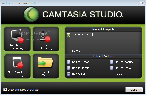 Download the latest version of Camtasia free in English on