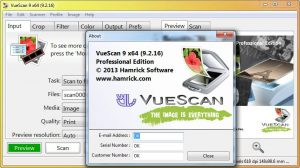 vuescan serial linux